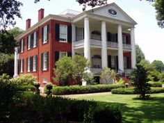 Rosalie Mansion, sits high on a Mississippi River bluff in Natchez, one of the city's most historic homes. In December 1820 lumber mill owner and planter Peter Little purchased land along the Mississippi River bluff upon which to build his home. He paid $3,000 for 22 acres, naming the estate Rosalie after Fort Rosalie, the fort that the French had established on that land in 1716. The house was completed in 1823 and lived in by the family until her death in 1853 and his in 1856.