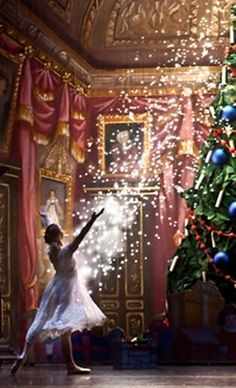 Christmas Time - Tempo da Delicadeza - glitter magic tree