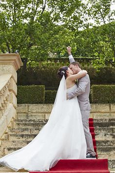 Every bride should have a shot like this :)