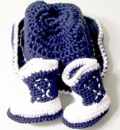 Baby Cowboy Gift Set Cowboy Boots and Hat by Barb70CraftShop, $35.00