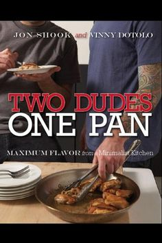 Cookbook - Two Dudes, One Pan.