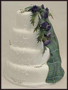 Too Good To Eat Wedding Cakes, Scotland.