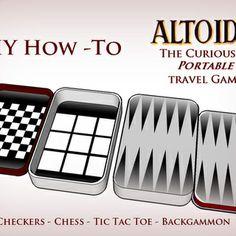Altoids Tin Travel Games - Pocket Size Fun tin travel, travel game, games, idea, crafti, altoid tin, diy, altoids tins, kid