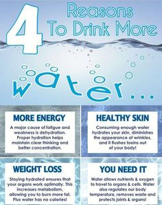 How often do you drink water?  Here are 4 reasons why you should love drinking water even more! Share it to family and friends..
