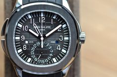The Patek Philippe Aquanaut Travel Time Reference 5164A
