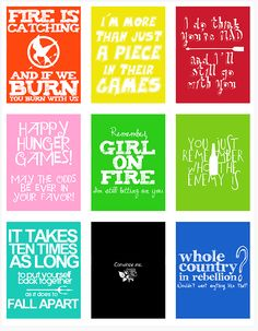 Hunger Games Quotes... LOVE IT.