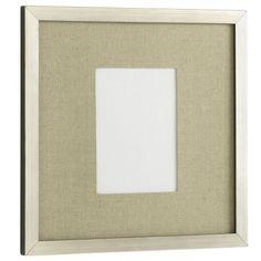 "13""x13"" silver paint Gallery Frames   west elm"