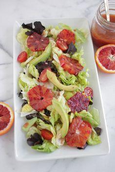Blood Orange Vinaigrette Salad Dressing recipe
