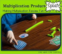 My son liked multiplication practice when we played this game! Making Multiplication Review FUN with a silly game. Freebie for x3s included! |  Line upon Line Learning blog