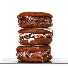Nutella Frangelico Ice Cream Sandwiches