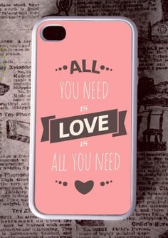 """All you need is love is all you need."""
