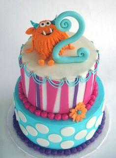 perfect little monster cake!