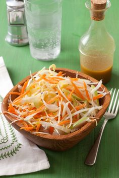 Salad recipes: Apple and Endive Salad with Peanut Dressing