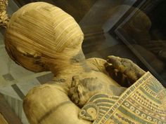 Paris | Louvre | Mummy Egyptian Exhibit