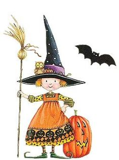 Mary Englebreit's Halloween holiday, witch brew, halloween parties, mari engelbreit, mary engelbreit, halloween witch, halloween snacks, halloween art, witches brew