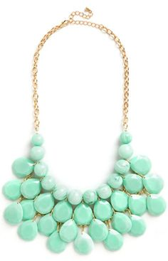 cute beaded #mint necklace http://rstyle.me/n/jtqq9r9te