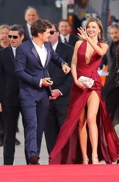 Orlando Bloom & Miranda Kerr, 2013 Golden Globes
