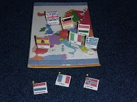 How to Make a Pin Map of Europe | The Homeschool Den