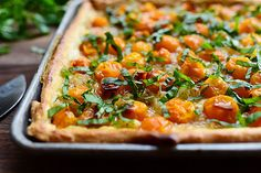 Tomato Tart by Ree Drummond / The Pioneer Woman, via Flickr