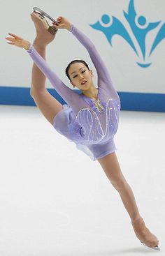 Purple Figure Skating / Ice Skating dress inspiration for Sk8 Gr8 Designs.