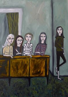 beatnik girls by vivienne strauss