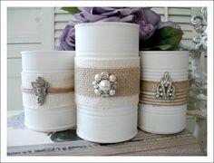 Shabby Vintage Tin Can Craft