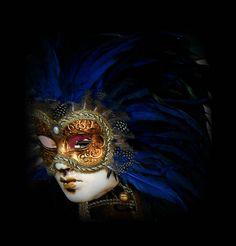 Venetian carnivale mask