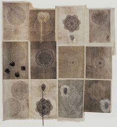 Le Divan Fumoir Bohémien shades, drawings, landscape quilts, john waters, doilies, artist, prints, kikismith, kiki smith