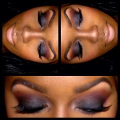eyeshadow, smokey eye