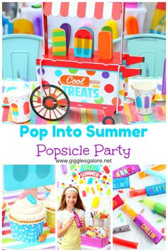 Pop into summer with a popsicle party for friends and family! #fun365 #summerparty #partyideas #kidsparty #poolparty #summer #parties