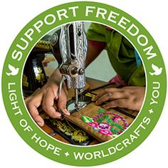 @WorldCrafts Support Freedom Stories  {Light of Hope ~ Bangladesh} Girls in Bangladesh who come from low-income families face many obstacles and dangers in their life—including potentially being trafficked and exploited. But the Light of Hope Learning Center helps prevent impoverished girls from having this dark future. The center is a day shelter that gives girls education, life skills, health care, and moral training. #WCartisans #supportfreedom