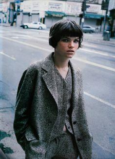 Zoe Gaze by Peter Lindbergh