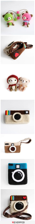 Amigurimi Toys and Cameras