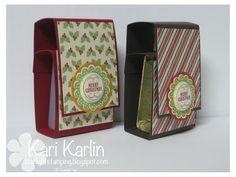 Hand sanitizer tutorial using 12x12 cardstock
