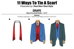 For the Dudes: 11 Ways to Tie a Scarf http://sulia.com/my_thoughts/99940e01-97b6-4b08-9cf7-d560a2f19d3a/?source=pin&action=share&btn=small&form_factor=desktop&pinner=6999301