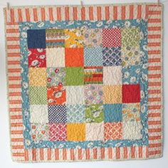 she has finished so many cute quilts!