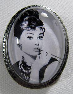 Camafeo de Audrey Hepburn