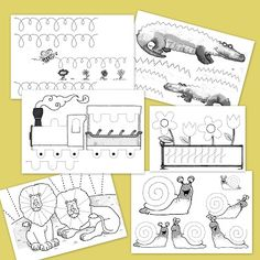 Trazos y Grafomotricidad Infantil