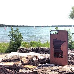 Minnesota Nice, and proud of it. #MNnice #Woodchuckcase #iPhonecase #Woodphonecase #woodenphonecase http://www.woodchuckcase.com/collections/customizable