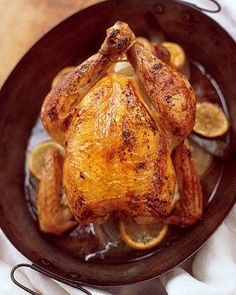 Roasted Chicken with Onion Gravy Recipe