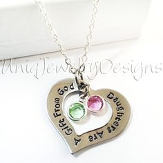 Personalized Daughter Quote Necklace