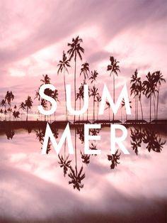 We love summer!