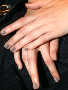 Pretty nails at 3.1 Phillip Lim #NYFW