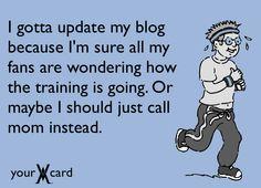 #blogger #runner