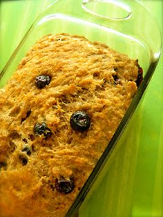Week 12: Whole Wheat Banana-Blueberry Bread by The Cooking RN