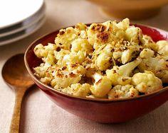 PointsPlus Roasted Cauliflower with Parmesan Cheese