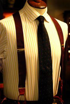 brace style, wear suspend, men wardrob, suspenders, groom