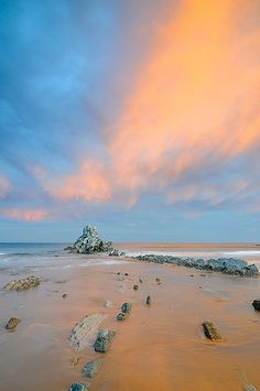 Sunrise, Atxabiribil Beach, Sopelana, Bizkaia