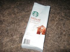 Take your empty Starbucks coffee bag into a Starbucks location and get a free 12oz drip coffee!