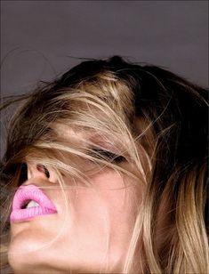 Lip color.